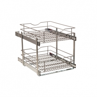 17 in Double-tier Pullout Baskets