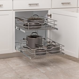 20 in Double-tier Pullout Baskets