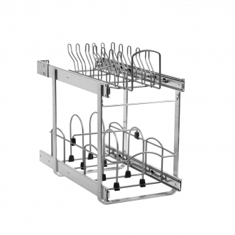 11 in Pullout Cookware Organizer