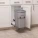 Single 35 qt Pullout Waste Bin