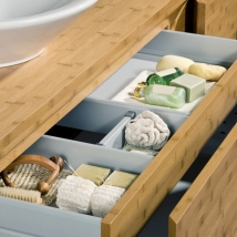 Drawer in the bath